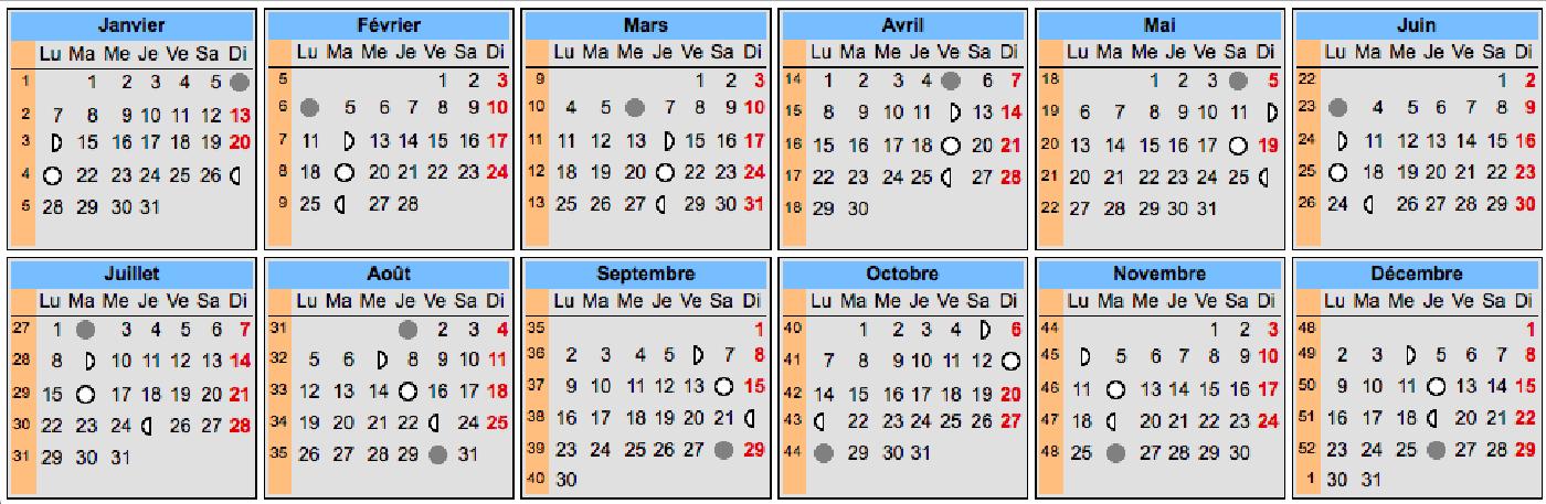 Calendrier Lunaire De Mars 2020.Pleines Lunes